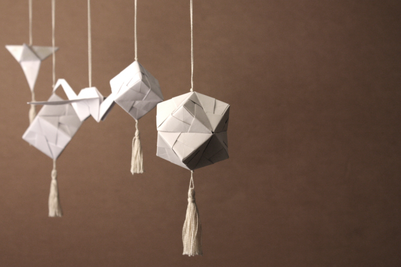 Christmas Origami.Christmas Origami Uros Mihic