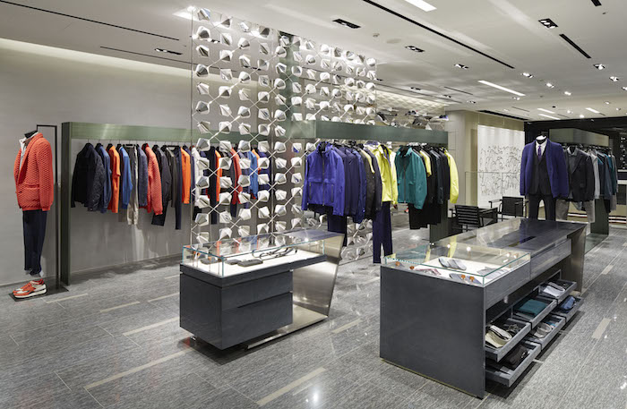 GINZA GLOBAL STORE_Z ZEGNA Concept Area