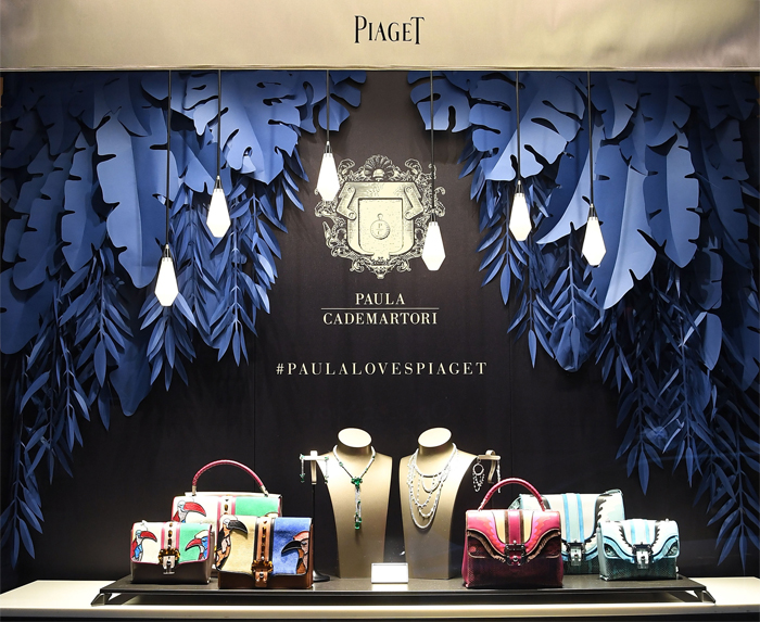attends Paula Cademartori For Piaget Milano during Milan Design Week on April 13, 2016 in Milan, Italy.